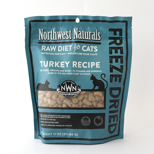 Northwest Naturals Freeze Dried Turkey Cat Food - All The Best Pet Care