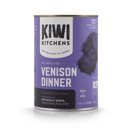 Kiwi Kitchens Venison Dinner Wet Food For Dogs All The