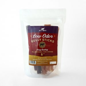 All The Best Low Odor Bully Sticks