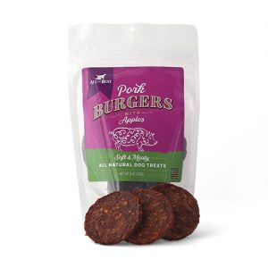 All The Best Pork Burgers dog treats