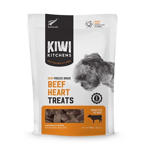 Kiwi Kitchens freeze-dried beef hearts