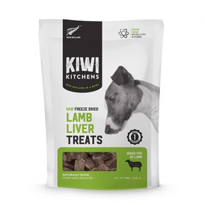 Kiwi Kitchens Lamb Liver treats for dogs and cats